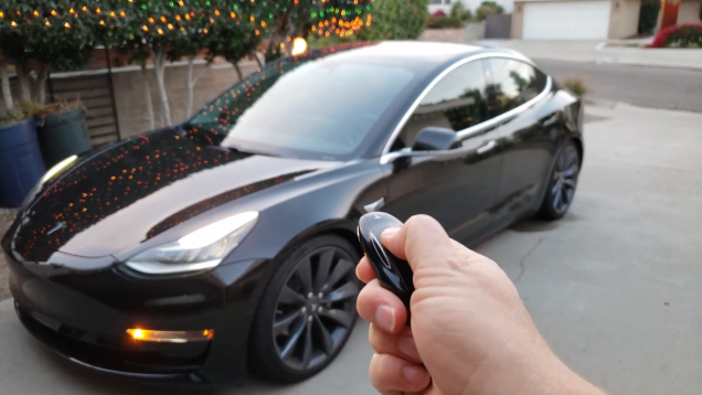Copy of Model 3 Key Fob