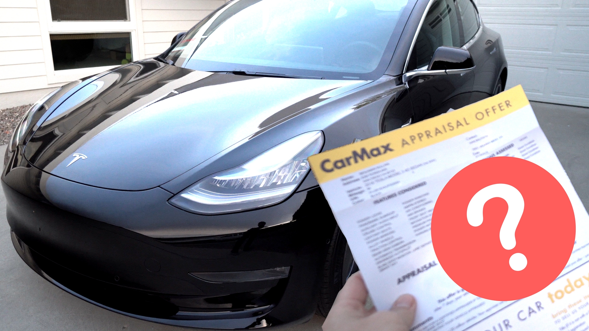 taking my tesla model 3 to carmax guess how much they offered teslanomics. Black Bedroom Furniture Sets. Home Design Ideas