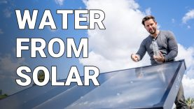 How Solar Panels Turn Air Into Water