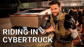 Riding in Tesla Cybertruck is Unlike Any Other Tesla