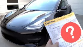 Taking My Tesla Model 3 to CarMax – Guess How Much They Offered?