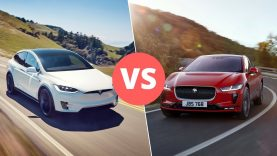 Tesla Model X vs Jaguar I-Pace – Three Flaws Make ALL the Difference
